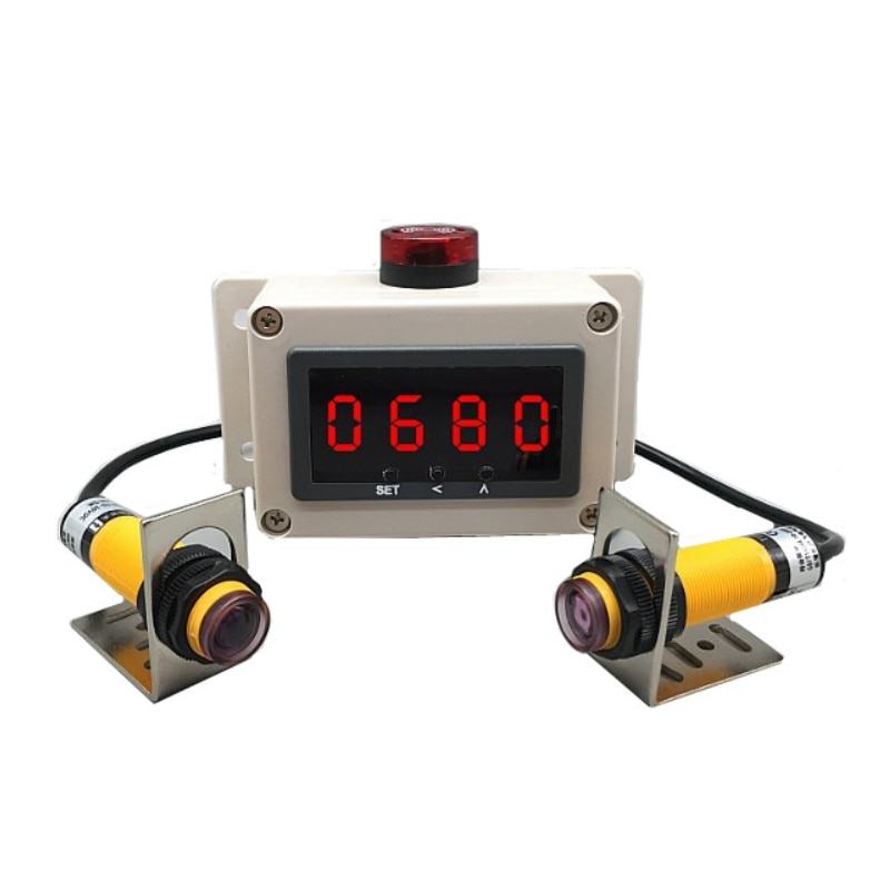 الأشعة تحت الحمراء الموقت التعريفي تشغيل التدريب سباق الليزر التلقائي توقيت أداة شاشة ديجيتال ساعة توقيت الإلكترونية