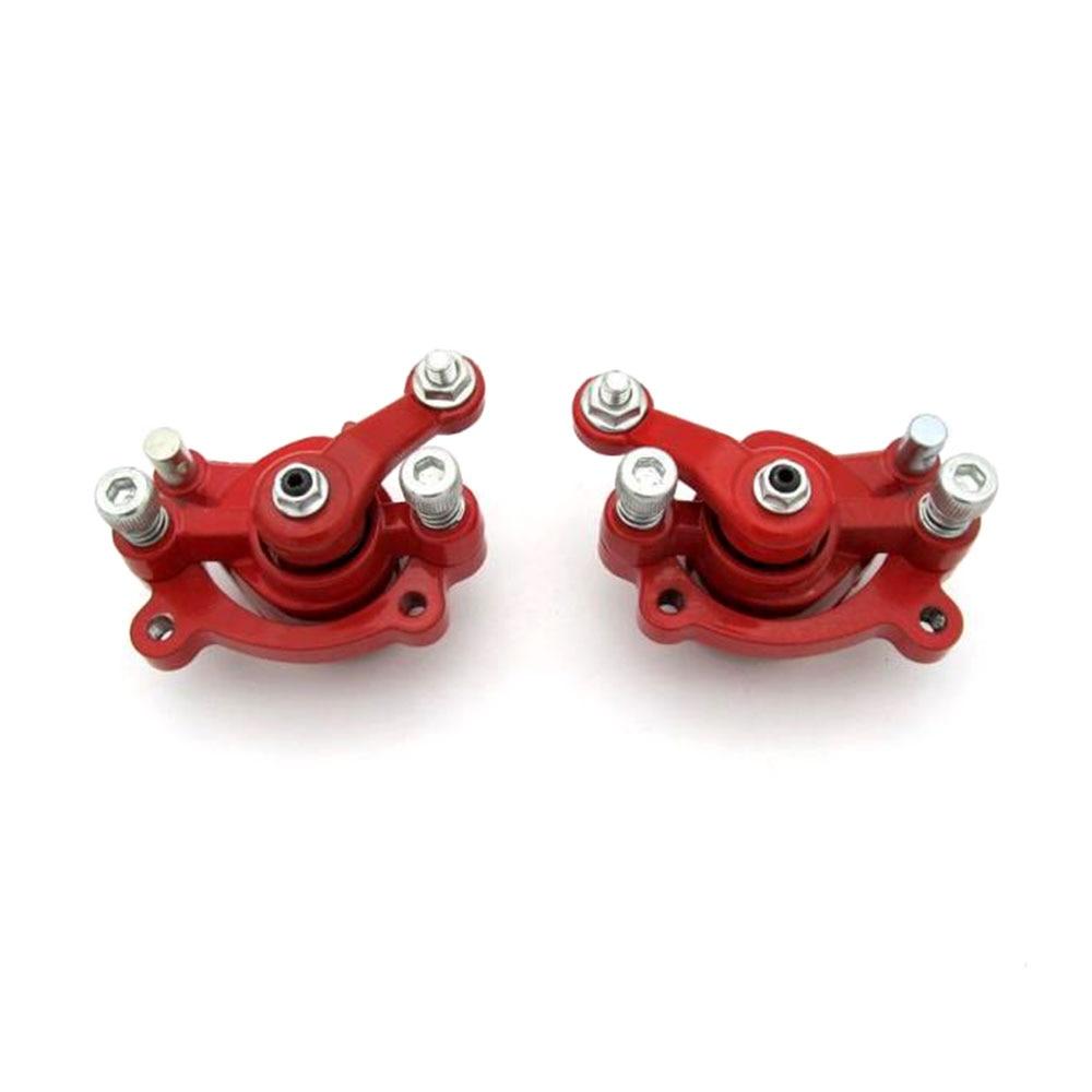 1 par pinça de freio a disco dianteiro e traseiro da motocicleta para motovox mbx10 mbx11 mini bicicleta monstro moto MM-B80