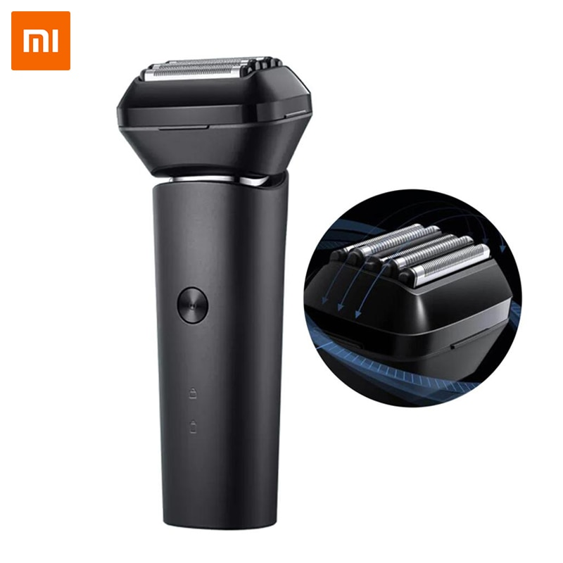Xiaomi Mijia Electric Shaver Men Reciprocating Razor 5 Cutter Heads 15,000rpm Type-C Rechargeable Waterproof Omnidirectional Flo