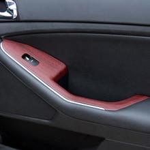 LEEPEE PVC Holzmaserung Strukturierte Auto Styling 30*100cm Auto Dekore 3D Auto Aufkleber Auto Wrap Film 4 farben