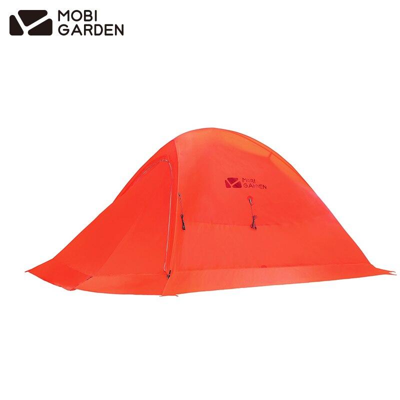 MobiGarden QINGQI UL2 Più Il pannello esterno di campeggio neve tenda esterna della tenda di luce natura escursione tenda 1 Persona 20D di Nylon doppio strato