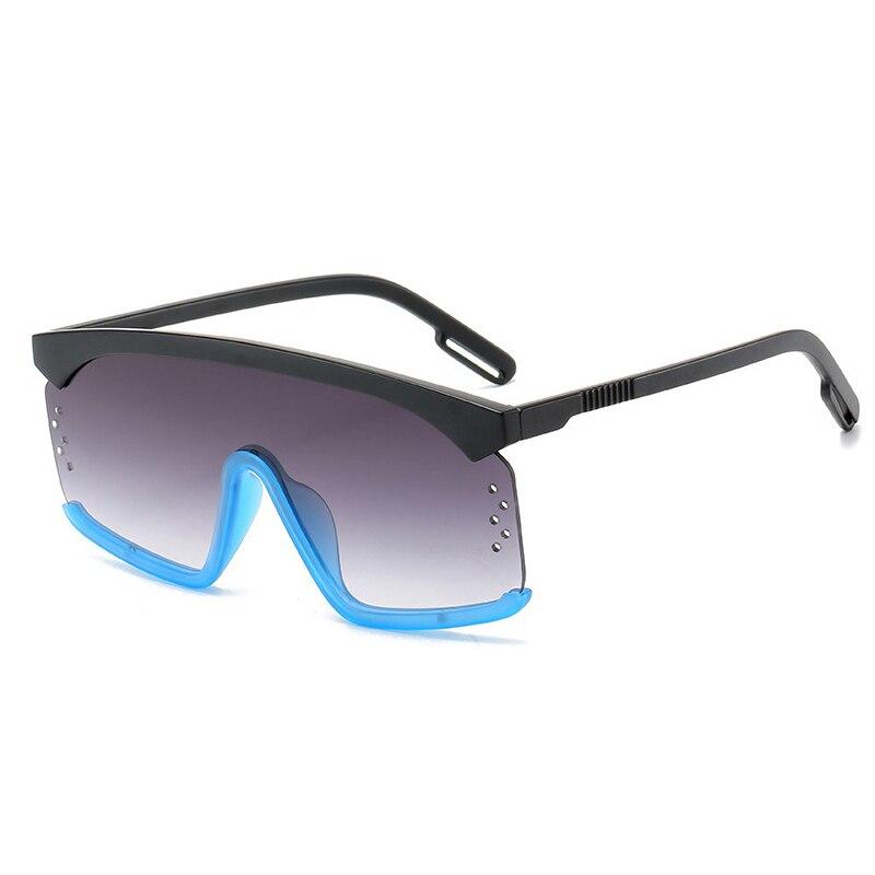 2021 Fashion Oversized Sunglasses Women Square Style Personality Exaggerated Big Frame Sun Glasses M