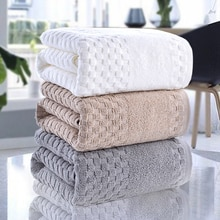 100% Cotton Bath Towel Large For Bathroom Super Absorbent Quick Drying Shower Face Bathing Towels Ad