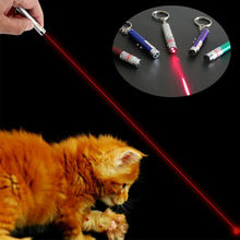 1 шт., забавная светодиодная Лазерная игрушка для домашних животных, 5 мВт, красная точка, лазерная световая игрушка, лазерная указка, лазерная ручка, Интерактивная игрушка с кошкой