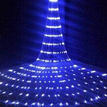 3X3M débit deau neige effet rideau fée pluie chaîne lumière noël fête de mariage hôtel fenêtre cascade glaçon lumière