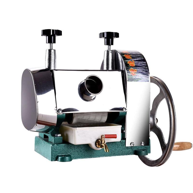 Máquina de jugo de caña de azúcar a mano de acero inoxidable de 50 kg/H, exprimidor de jugo de caña de azúcar, Extractor de jugo de caña de azúcar