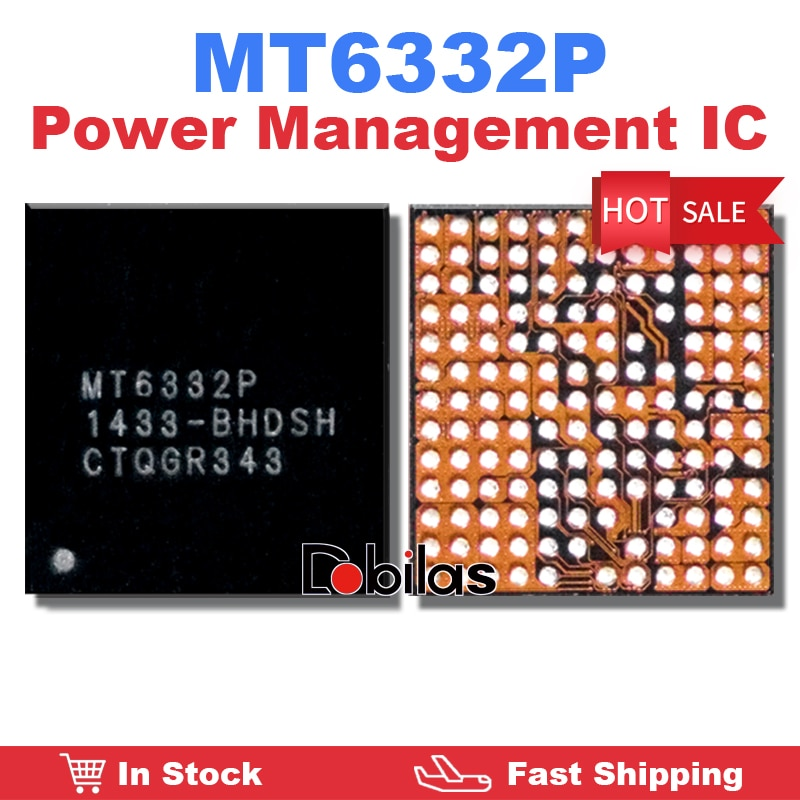 1Pcs/Lot MT6332P BGA Power IC Power Management Supply Chip Mobile Phone Integrated Circuits Replacem