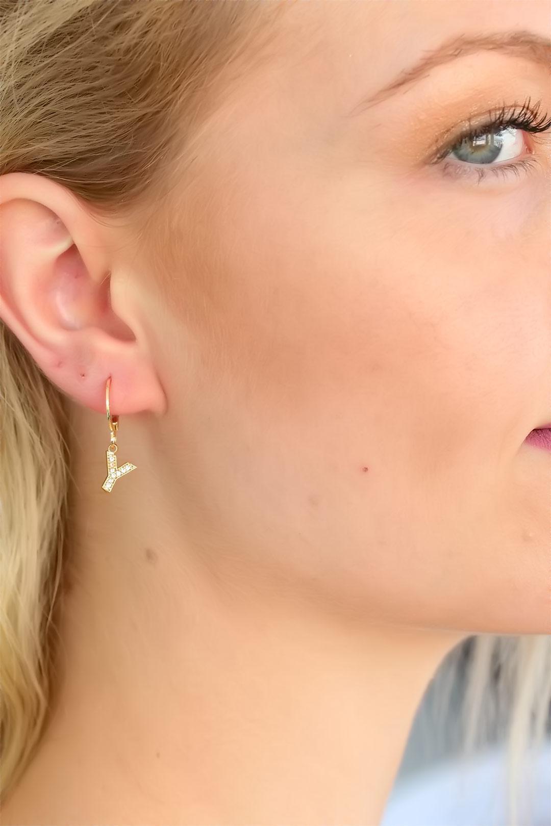 y-letter-womens-earrings