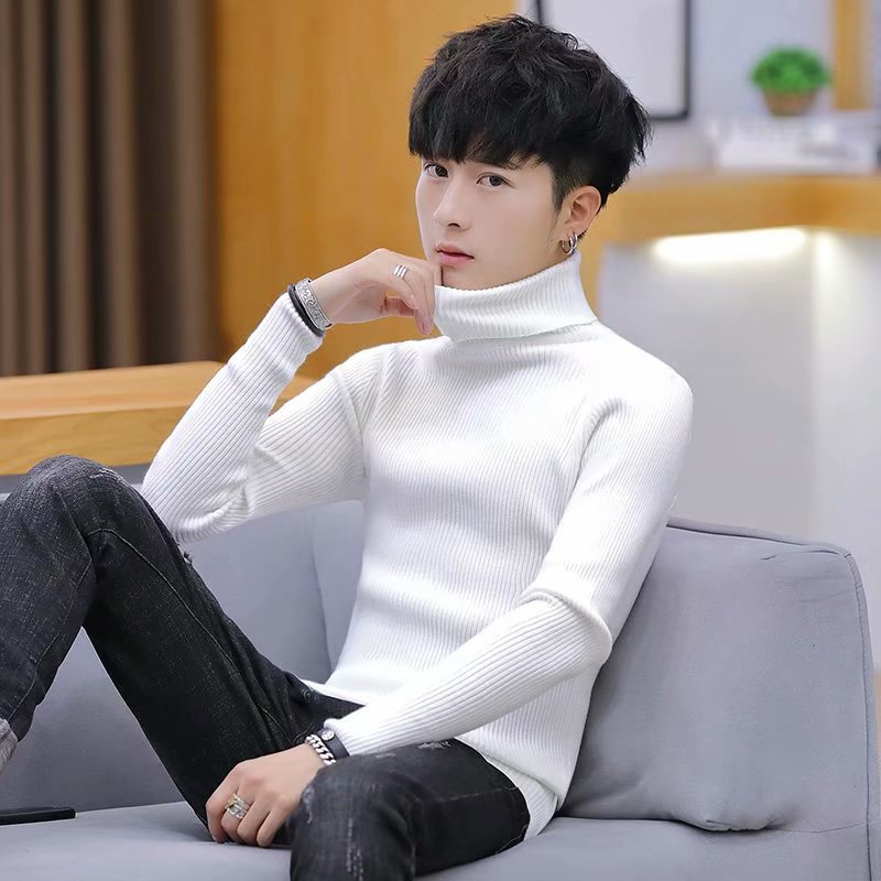 autumn and winter sweater women 2020 new slim size long sleeve bottoming shirt students korean warm sweater t shirt tide Men's sweater 2020 autumn and winter new Korean fashion men's clothing fashion brand long sleeve sweater knit bottoming shirt.