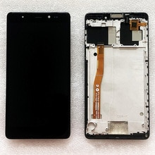 Black/White For Leagoo T1 Plus LCD Display With Touch Screen With Frame Digitizer Assembly Replaceme