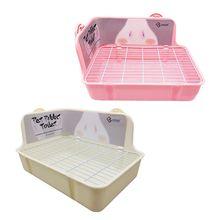 Plateaux dangle pour les toilettes   Animal de compagnie, Hamster chat, lapin, litière de toilette, propre à lintérieur, petits animaux en formation, démaquillage, civière