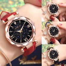 2021 New Fashion Unisex Stars Little Point Frosted Belt Watch Dotted With Roman Scale Digital Watch