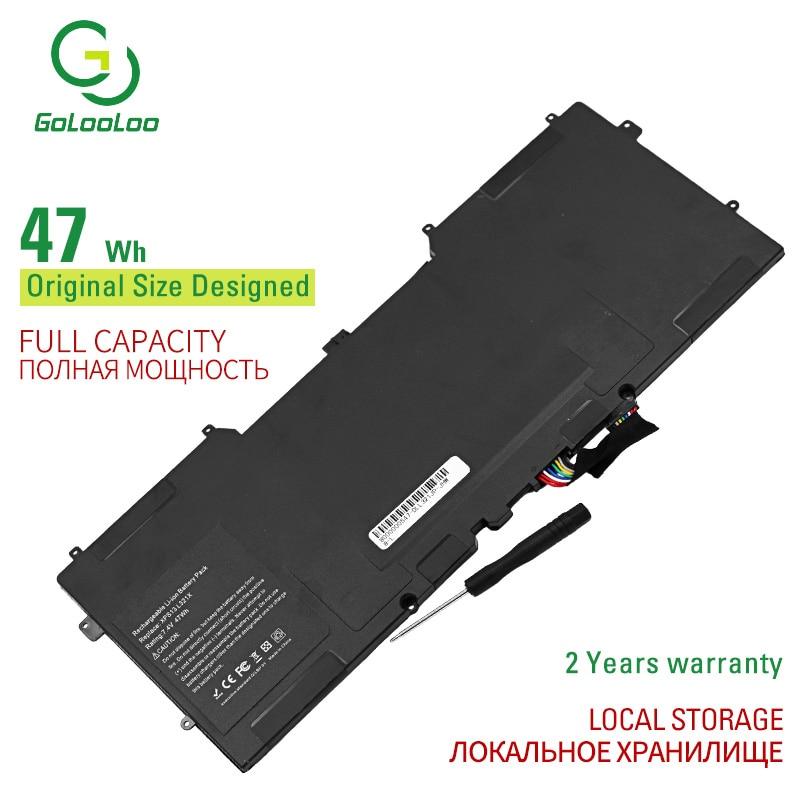 Golooloo 7.4V Série 13 13 47WH Bateria Do Portátil para Dell XPS 9350 Series 13D 9343 Série 90V7W 0DRRP 0N7T6 5K9CP DIN02 JD25G