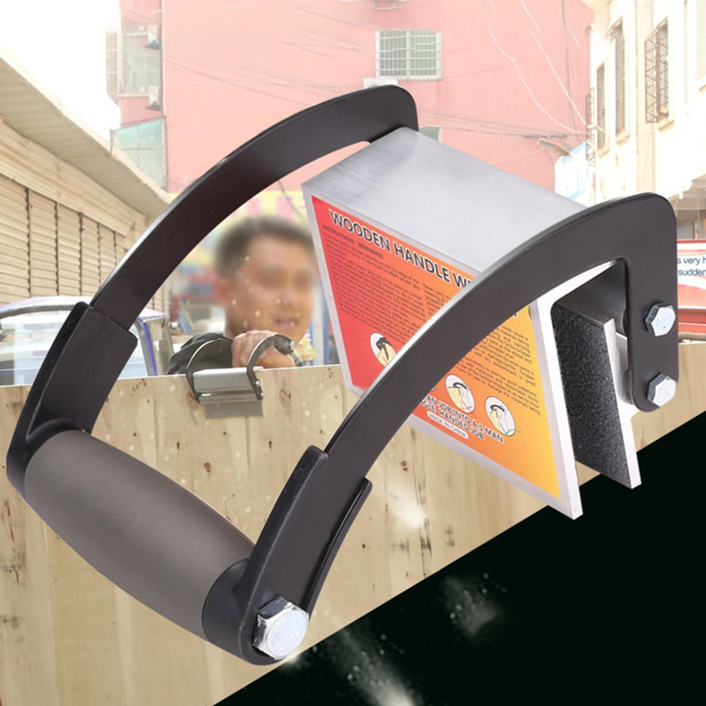 Plywood Panel Carrier Handy Gripper Wood Board Lifter Handle Tool Special  Home   Tools  practical portable enlarge