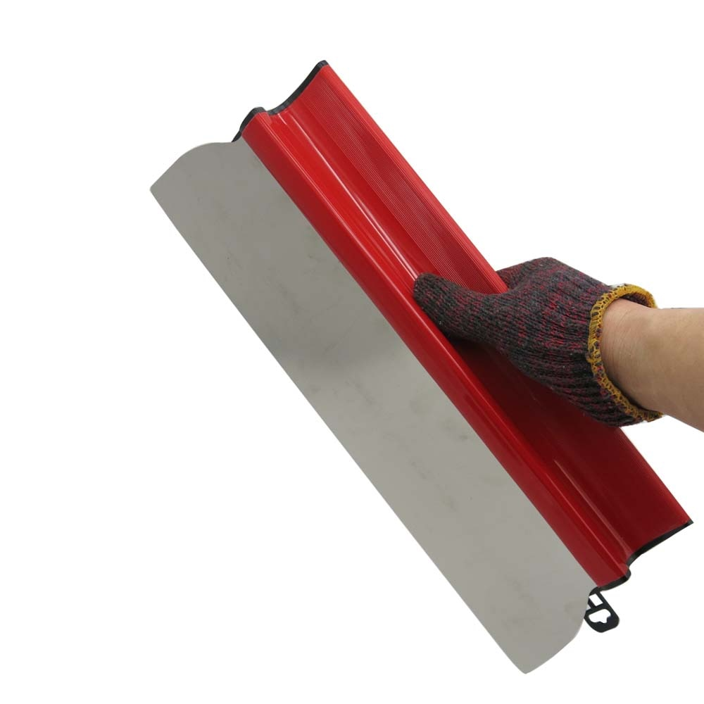 """Spatola per levigare il muro a secco per strumenti da parete, pittura, rasatura, lama flessibile, spatola per finitura da 15.7 """", 40 cm"""