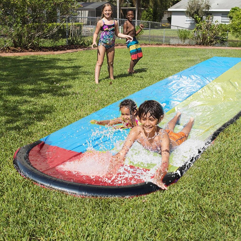 Water Slide Toys Summer Water Play Toys Children Water Slide Pools Inflatable Sprinkler Kids Summer PVC Outdoor Toys