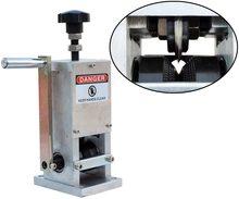 1,5-25mm Abisolieren Maschine Schrott Kabel Schälmaschine Hand Kurbel Draht Stripper für Schrott Kupfer mit Bohrer, fütterung Panel