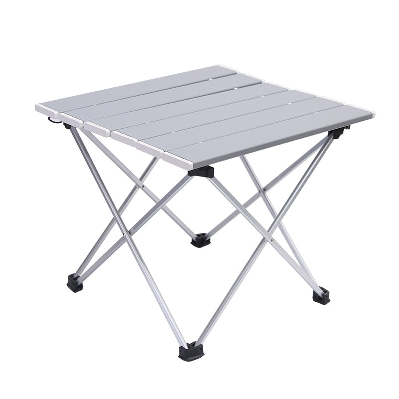 Portátil mesa de acampamento liga de alumínio dobrável mesa de piquenique ultraleve