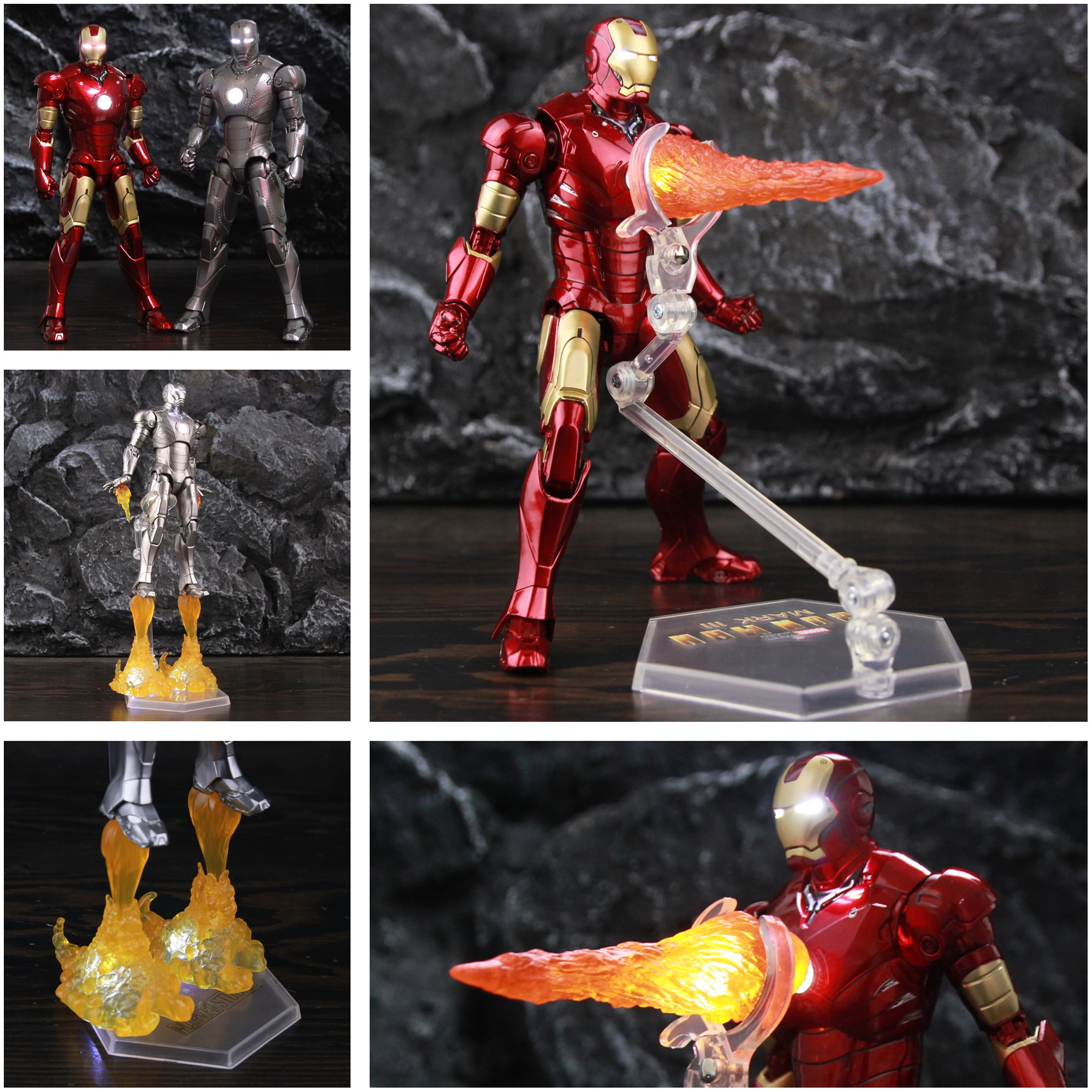 LED Light Classic Marvel Iron Man MK2 MK3 Mark III 7
