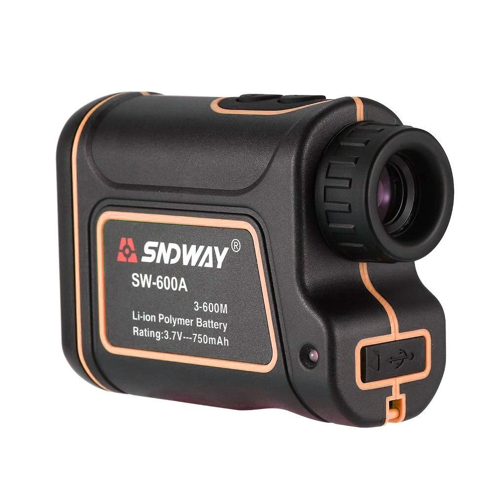 SNDWAY SW-600A Monocular Telescope Laser Rangefinder 600m Trena Laser Distance Meter Golf Hunting Laser Range Finder enlarge