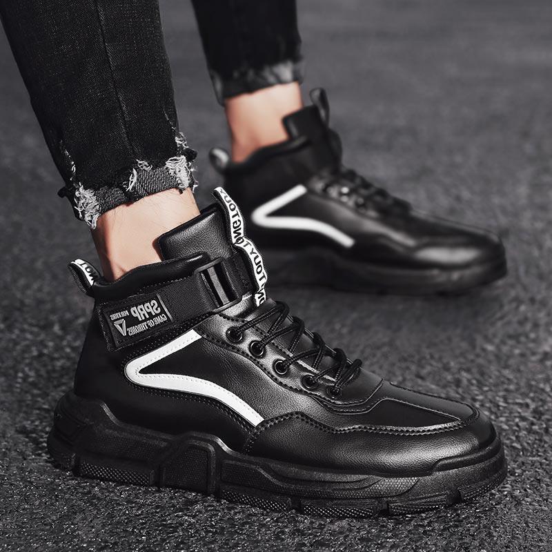High-top otoño zapatillas de Deporte Hombre Zapatos de Deporte de los hombres...