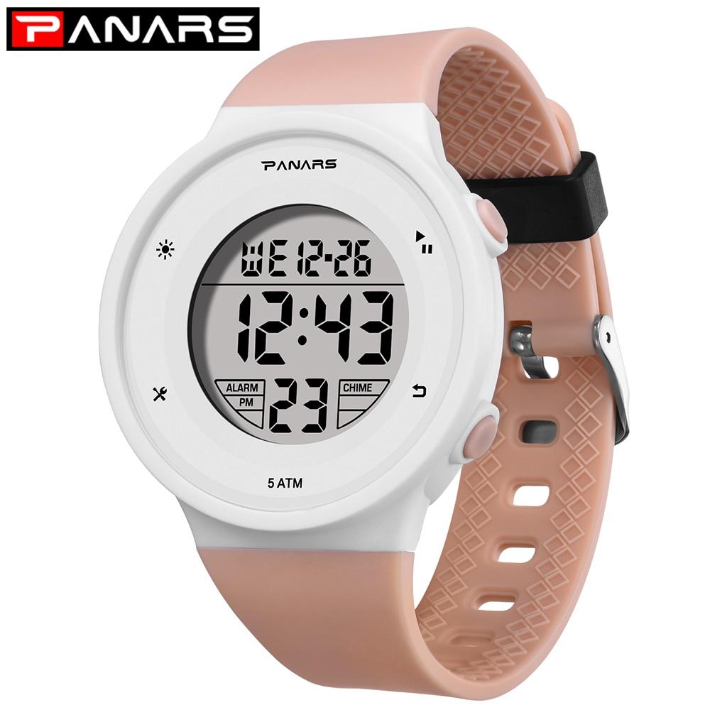 SYNOKE Children Watches Sports 50M Waterproof LED Student Wristwatches Alarm Clock Kids Digital Watches Relogio