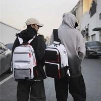 weysfor vogue waterproof nylon large backpack for men women school bag college student harajuku multifunction travel back pack