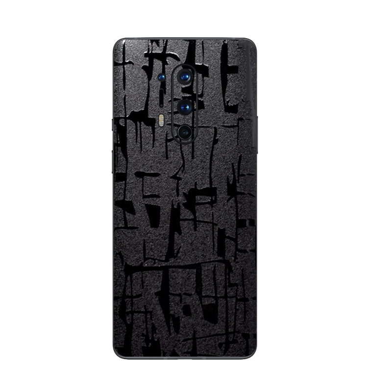 For Oneplus 8T 8 Pro Cases Back Covers Crocodile Pattern Decal Skin Protector Matte Stickers for One