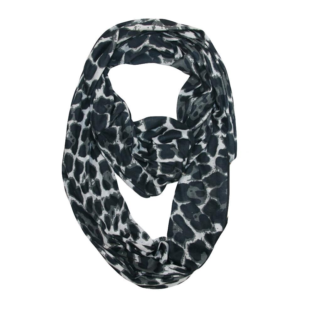 Suave Unisex invierno círculo ligero silenciador hombres mujeres tubo forma bufanda bucle bolsillo secreto con cremallera infinito bufanda chal anillo