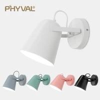 PHYVAL     applique murale Led E27  style nordique  luminaire decoratif dinterieur  ideal pour une table de chevet