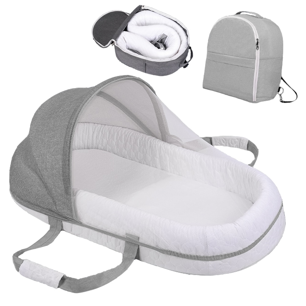 Multi-Function Portable Baby Bed Sleeping Nest Travel Beds Baby Nest For Newborns Portable Cribs For Baby Cot Travel Bassinet