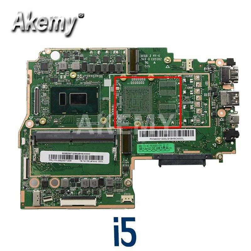 Akemy لينوفو Ideapad 330S-15IKB اللوحة الرئيسية 330S-15IKB اللوحة 5B20R07295 I5-8250U مع 4G RAM 100% اختبار العمل