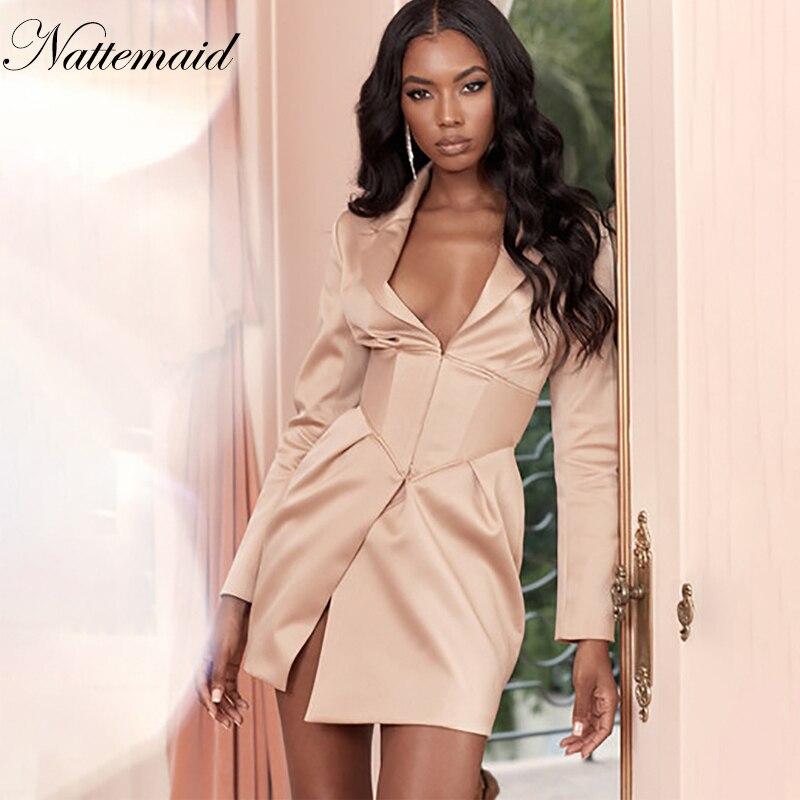 Nattemaid vestido formal de festa, feminino, sexy, bodycon, sexy, elegante, mini vestido de clube noturno, roupas