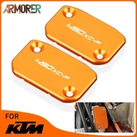 motorcycle accessories for ktm 450xc f 450 xc f xcf front brake clutch fluid reservoir cover cap 2013 2021 2014 2015 2016 2017