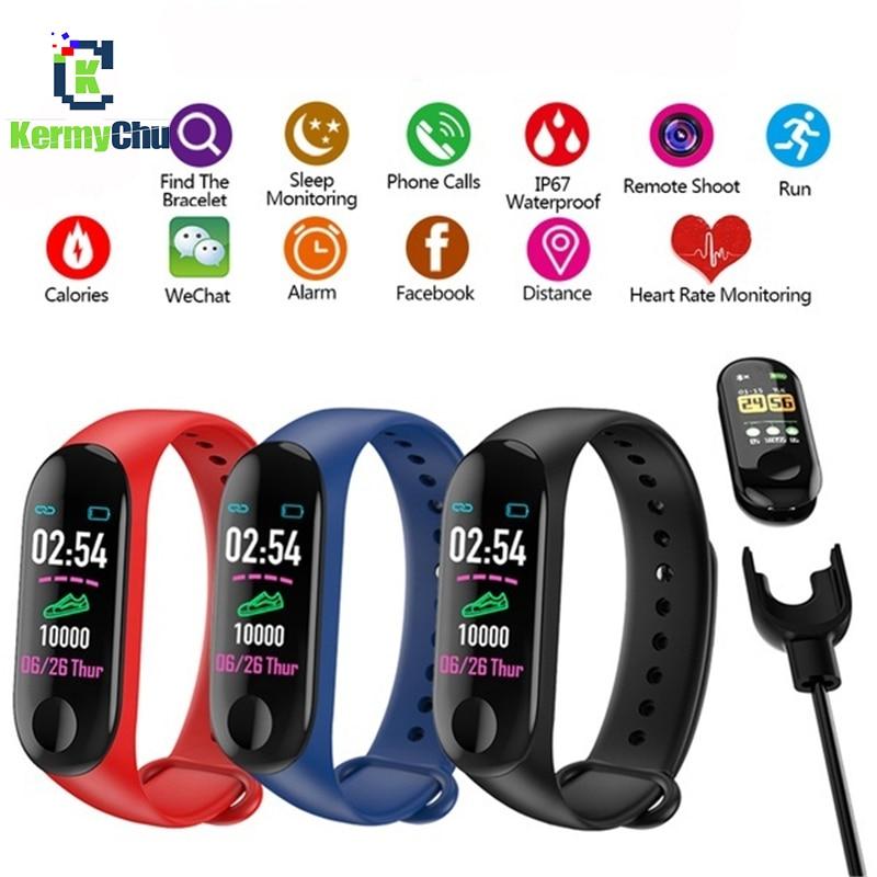 M4 M3 Smart Watch Fitness Bracelet Sports Watch Heart Rate Blood Pressure Pedometer Wristband Smartband for Xiaomi Xiao Mi M4