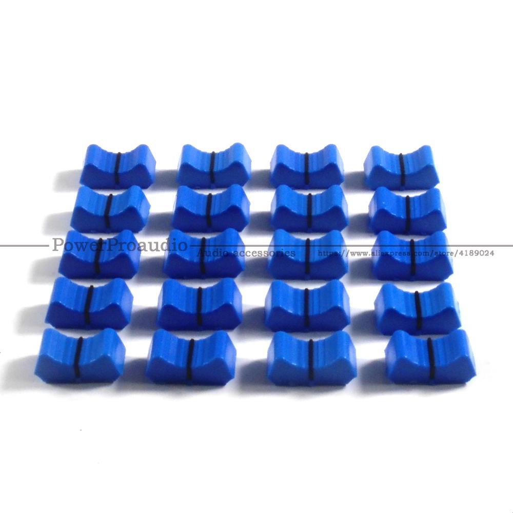 20 piezas mezclador fader Slider Fader perillas de reemplazo para ALLEN &...