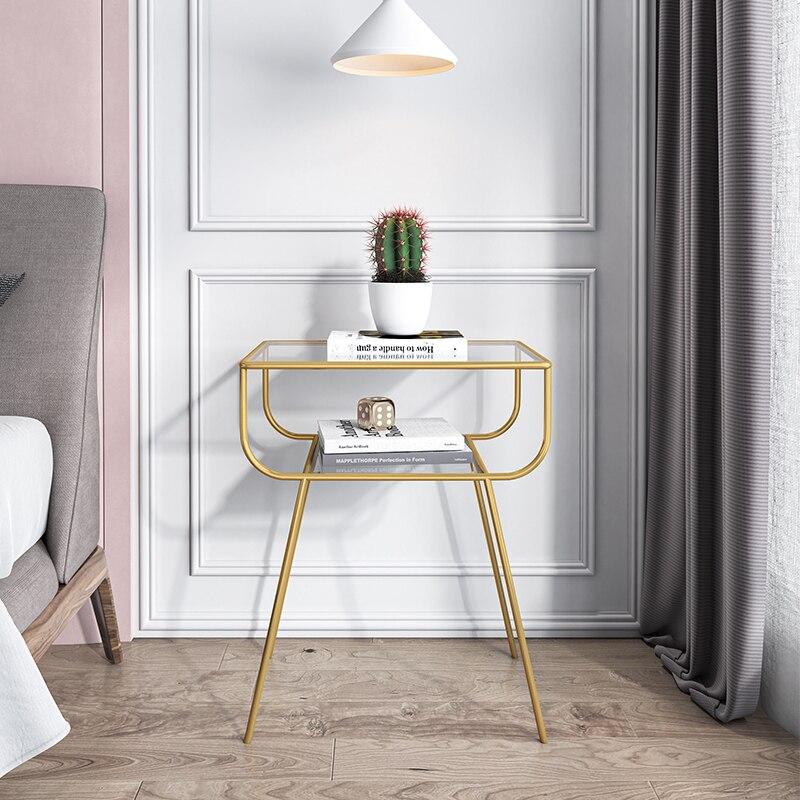 نايتتقف الحديثة السرير طاولة جانبية أثاث غرفة نوم الحديد طاولة جانبية nordicأريكة خزانة الزاوية طاولة صغيرة خزانة بجوار السرير