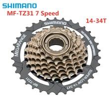 SHIMANO TOURNEY MF-TZ31 TZ31 Cassette 7S MTB bike bicycle freewheel Cassettes 14-34T