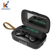 TWS Bluetooth 5.1 Earphone Stereo Wireless Headphones Waterproof Wireless Earphones Touch Control Sp