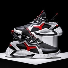 Hip Hop Men Chunky Sneakers Casual Shoes Tenis Sapato Masculino  High Platform Sneakers Basket Man Walking Shoes