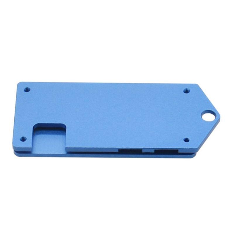 1Set ZV2 Aluminum Protective Case Metal Enclosure Shell for Raspberry Pi Zero W
