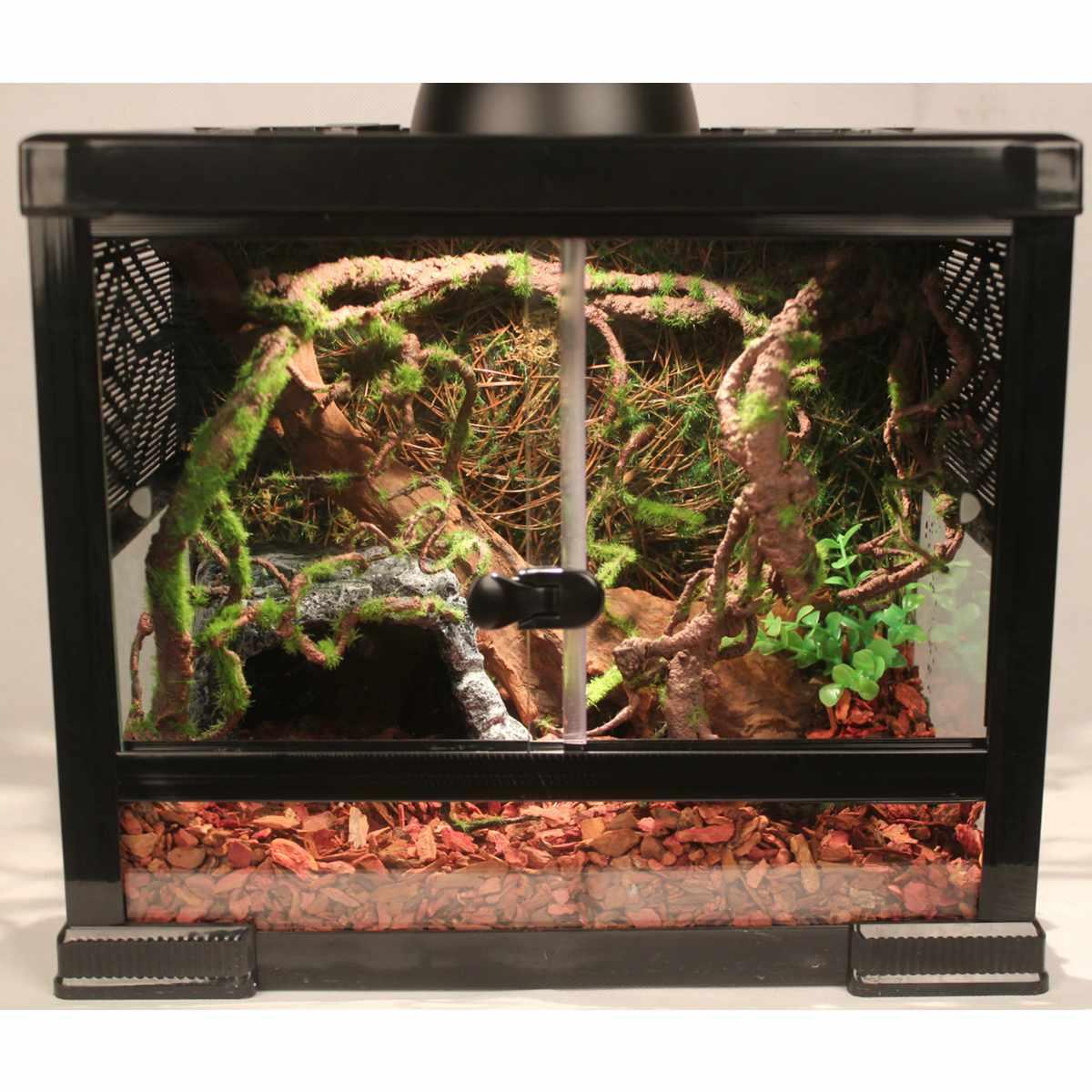 Boîte à Reptiles de 120cm   Réservoir, liane, forêt Jungle, courbe, branche artificielle, Cage de Terrarium, décoration Reptiles, ornement dhabitat