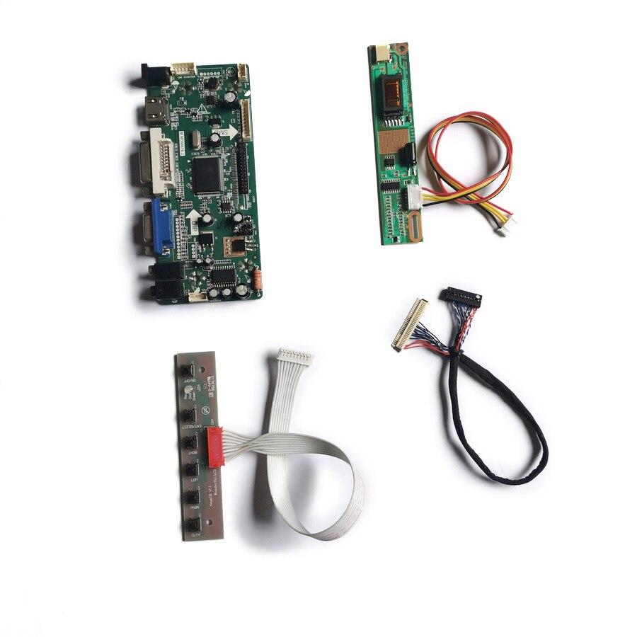 لوحة تحكم الشاشة M.NT68676 لتقوم بها بنفسك, مجموعة 1CCFL 30Pin VGA + DVI LVDS 1024*768 لشاشة QD14XL07/QD14XL12/QD14XL19/QD14XL20