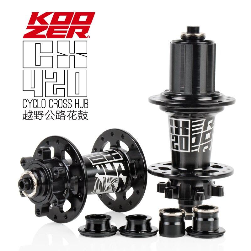 2019 nuevo buje de bicicleta Koozer CX420 28 agujeros buje de bicicleta de freno de disco QR 8/9/10/11S eje a través 12*100 12*142mm 10*135mm