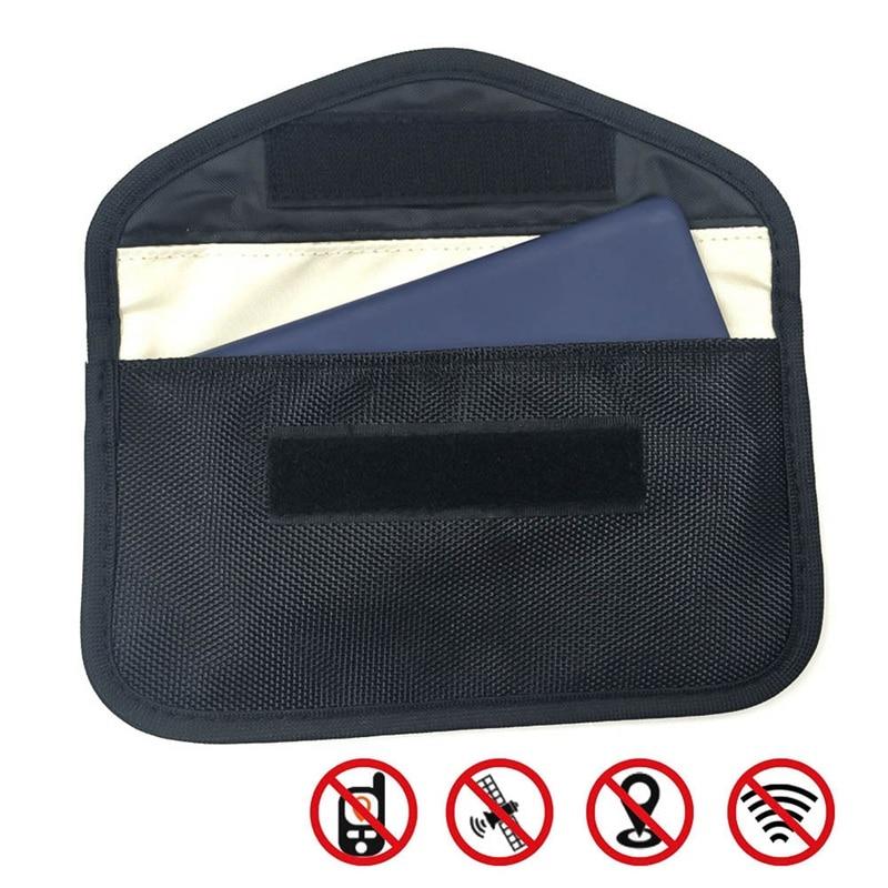 Чехол, блокирующий сигнал Автомобильный Брелок сигнала блокировщик сумка Фарадея чехол, блокирующий сигнал защитный чехол бумажник чехол ...