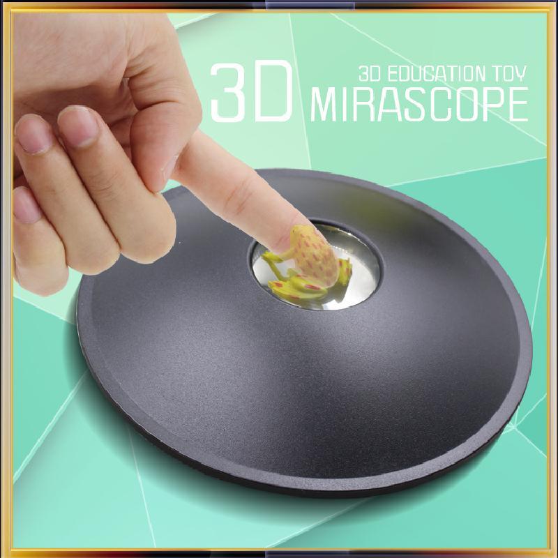3d Magic Mirror Sight Illusion Creator Phantom Black holograma Maker Reflector parabólico niños ciencia divertida enseñanza ayuda