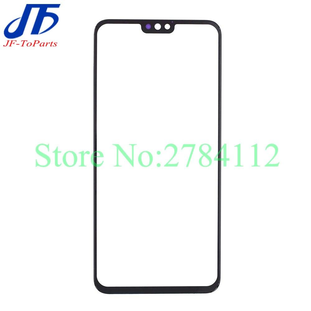 Panel táctil para Huawei P Smart 2019 Enjoy 9S Honor 10 Lite / Honor 8X View 10 lite, cristal exterior frontal con pantalla táctil de 10 piezas