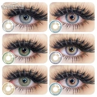 eyeshare color contact lenses siam series soft contacted lenses pupil beauty makeup lens color contact lenses cosmetic for eye