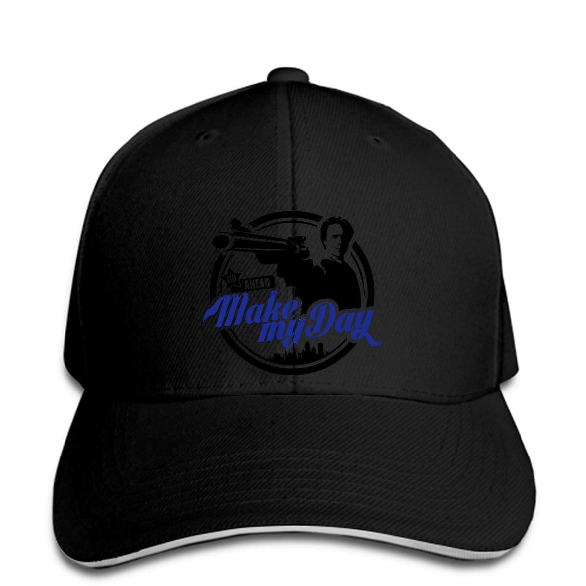 Gorra de béisbol de hombre de último diseño haz mi día gorra de béisbol de manga corta Clint easwood para adolescentes