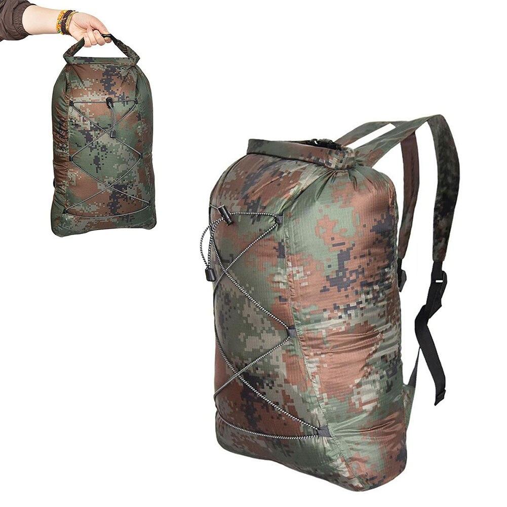 Водонепроницаемый рюкзак для сухой рыбалки, уличный складной плавающий Камуфляжный мешок для плавания, рыбалки, лодки, рыбалки, серфинга, 23 ...